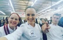 Latviešu komanda 10. Internacionālajā Dienvideiropas kulinārijas konkursā /3.03.-6.03.2017./