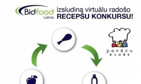 Bidfood izsludina virtuālo radošo recepšu konkursu