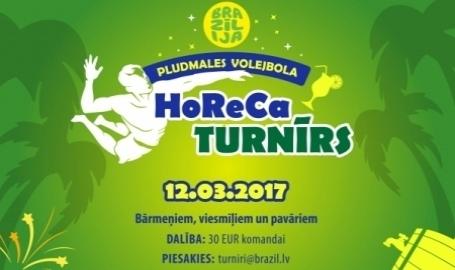 HoReCa turnīrs pludmales volejbolā!