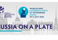 2020. gadā no 28.-31. jūlijam Sanktpēterburgā notiks Worldchefs Congress