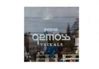 Šodien Gemoss atklās jaunā koncepta pop - up veikalu