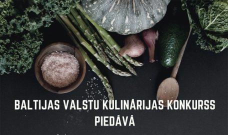 Baltijas valstu kulinārijas konkursa pusdienas