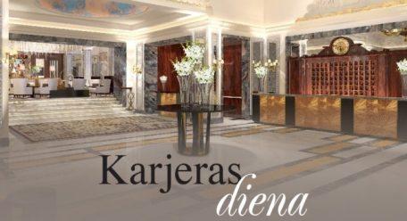 """Grand Hotel Kempinski Riga"" organizē karjeras dienu"