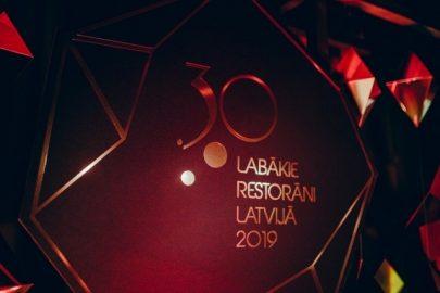 Latvijas labākie restorāni 2019- apbalvošana