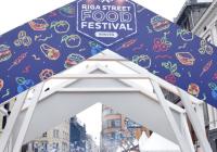Vecrīgā norisinājās -Riga Street food festival