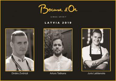 Zināmi Bocuse d'Or Latvija 2019 konkursanti