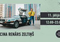 11. jūlijā uz Rīgas Street Food Garšas pagalma balli aicina Renārs Zeltiņš!