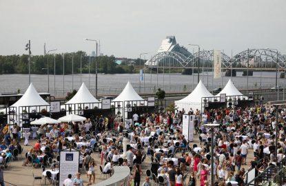 Sesto gadu Rīgas svētku laikā durvis vērs Rīgas svētku restorāns